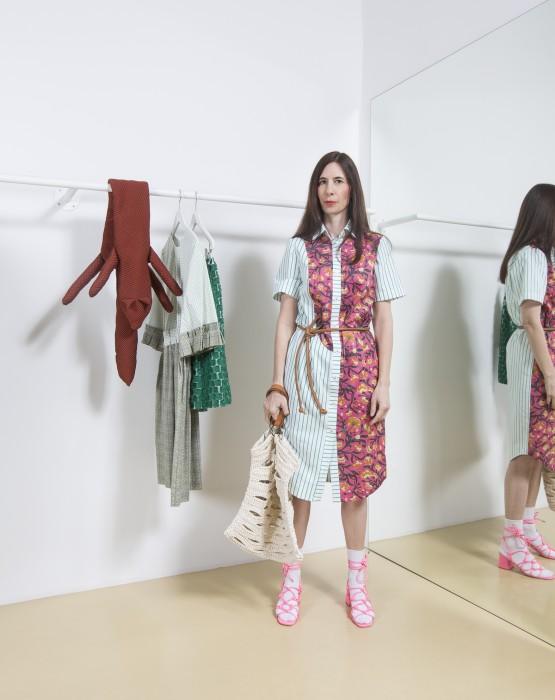 PATCHWORK  SHIRT - DRESS