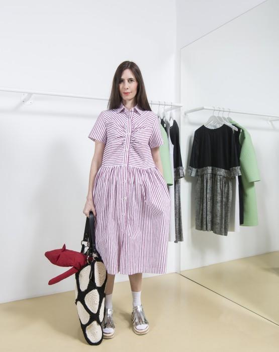 STRIPED SHIRT - DRESS