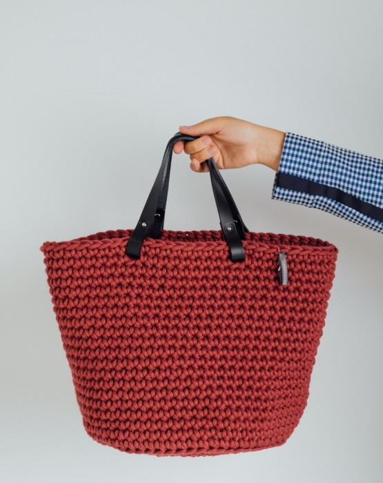 CROCHETED BASKET 4