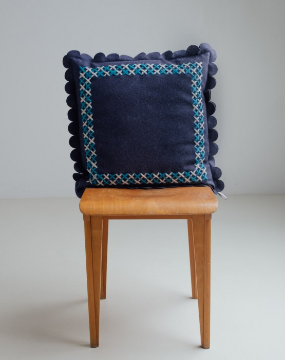 EMBROIDERED CUSHION 2